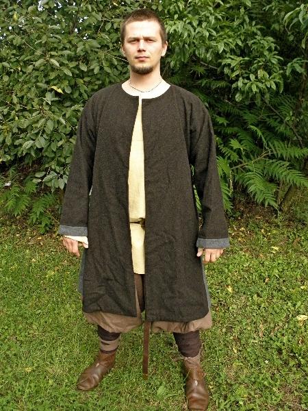 kaftan coat przod