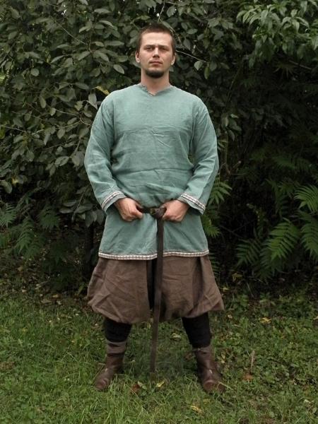 koszula szwedzka z obszyciem krajką