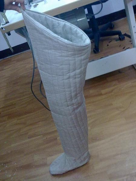 pikowane nogawice