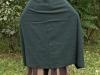 płaszcz prostokąt zielony