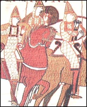 Fragment tkaniny z Bayeux