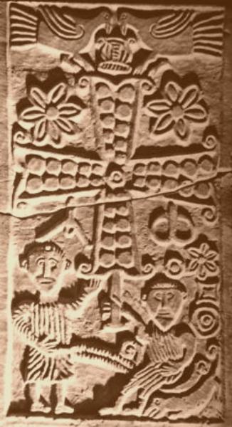 Relief z Francji, VIII w.